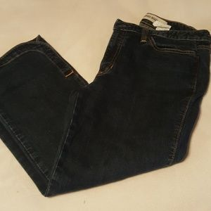 Cute gap cropped boot cut jeans